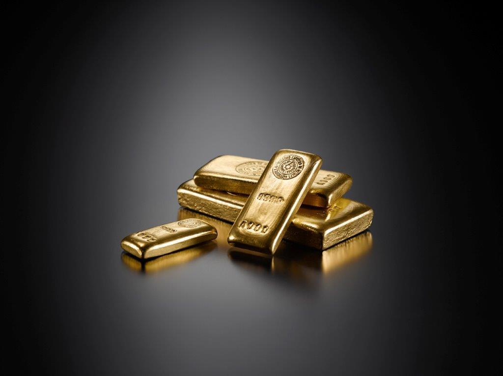 Lingote de oro de 1 kg