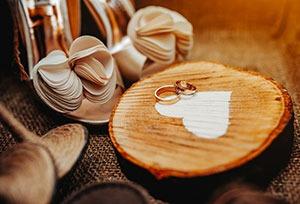 Vender alianzas de boda